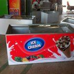 یخچال صندوقی بستنی