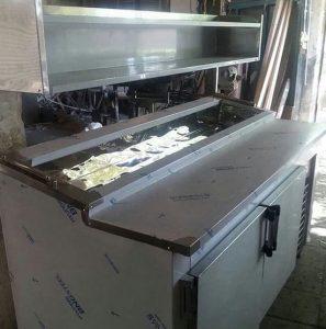 تاپینگ سرد دارای بار و جاکاغذی و ظروف بسته بندی