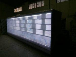 یخچال ایستاده بدون درب
