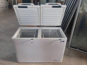 فریزر صندوقی ۲ درب خانگی